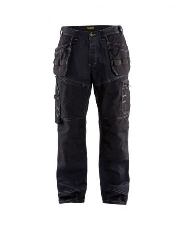 Blaklader X1500 1140 X1500 Trousers Denim/Cordura (Navy Blue/Black)